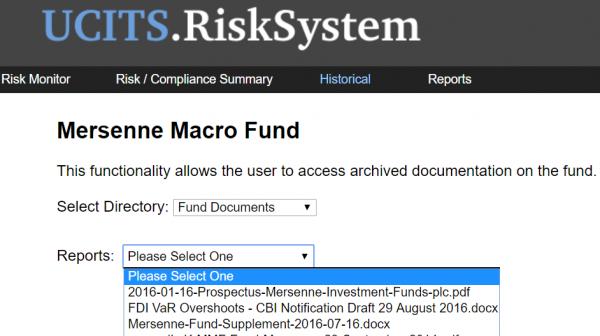 Fund Docs